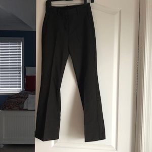 Dark Brown Theory Trousers